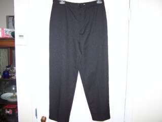 WOMENS BLACK DRESS PANTS   BY BEND OVER   SIZE 18P   VERY GENTLY PRE