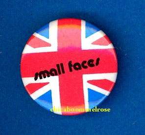 Small Faces mod ska 1965 pinback button badge ww