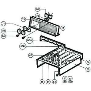 Hayward heater gas valve   millivolt (propane) Patio