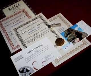 SAVING PRIVATE RYAN, Signed TOM HANKS Autograph, Prop HELMET, Case DVD