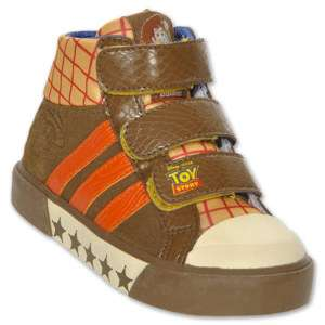 New Adidas Disney Toy Story Woody Toddler Shoe Sneaker