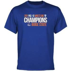NCAA Boise State Broncos Royal Blue 2011 PAC 10 Wrestling