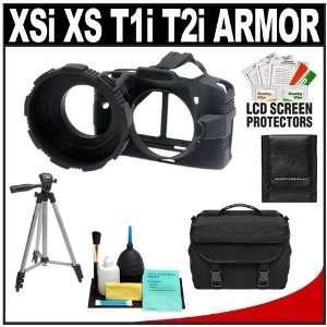 , T1i & T2i Digital SLR Camera + Case + Accessory Kit