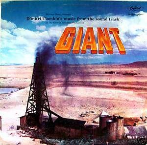 Giant OST LP James Dean Capitol W773 Dimitri Tiomkin