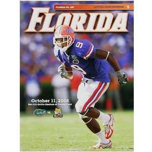 Gators vs. LSU Tigers Official Stadium Program Sports & Outdoors
