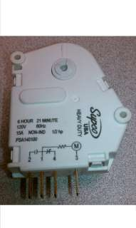 Defrost Timer SPA1401AD / PSA140100 SUPCO