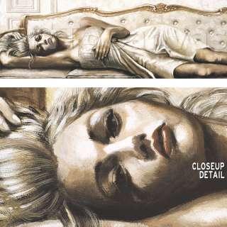 54x18 SERENITÀ by GUALTIERO BASSI SCALA ROMANTIC FIGURE SEDUCTIVE