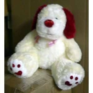: BIG 30 GIANT STUFFED PUPPY LOVE   BIG PLUSH SQUISHY SOFT LOVE DOG
