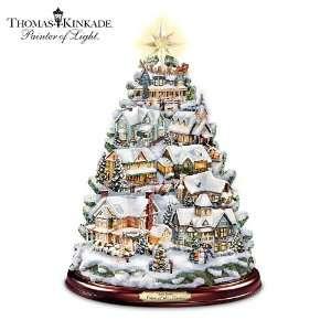 Thomas Kinkade Christmas Tabletop Tree Songs Of The