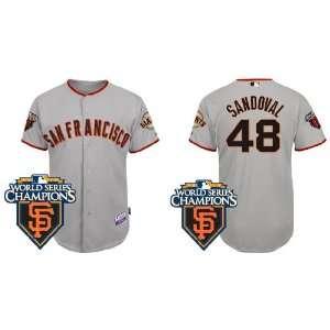 Wholesale New San Francisco Giants #48 Pablo Sandoval Grey 2011
