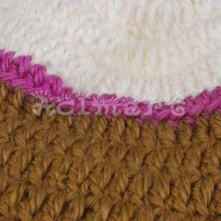 Warm chullo Earflap Crochet Beanie Knit hat skull cap