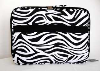 17 Computer/Laptop Briefcase Travel Luggage Bag Padded Case Black