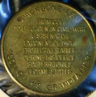 Benjamin Harrison Franklin MINT Commemorative Bronze Medal   Token
