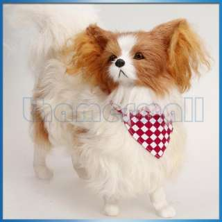 Pet Dog Cat Bandana Collar Neck Scarf Neckerchief w/ Jingle Bell