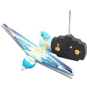 bird Blue Flying Pigeon Rc Ebird Remote Control Toy Toys & Games