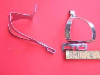 Christophe Toe Clips Steel Small Made In France Chrome