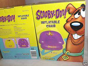 Scooby Doo  `Lime Green `Inflatable Chair,Free To US