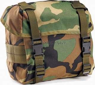 Military GSA GI Enhanced Woodland Nylon Butt Pack Fanny Bag Hip Sack
