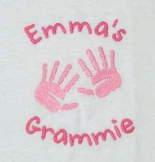 Personalized MOTHER MOMMY MOM GRANDMA Hands SWEATSHIRT