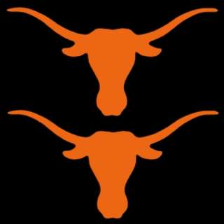 UT Texas Longhorns 4 Pair of Auto Car Truck Window Stickers Decals