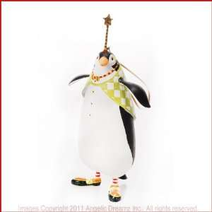 Patience Brewster Krinkles, THADDEUS PENGUIN ORNAMENT Home & Kitchen