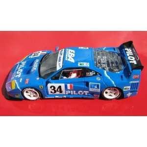 32 Slot Car Assembly Kit Ferrari F40 24H. Le Mans 1995 Toys & Games