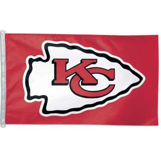 Kansas City Chiefs 3 x 5 Decorative Large Flag NFL