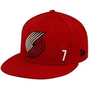 New Era Portland Trail Blazers #7 Brandon Roy Red Player