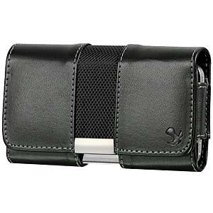 BLACK BELT CLIP LEATHER CASE POUCH COVER HOLSTER FOR IPHONE 3 3G 3GS 4
