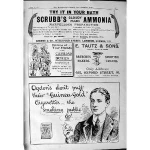 Ammonia Ogden Cigarettes Tautz Leonard Brassey