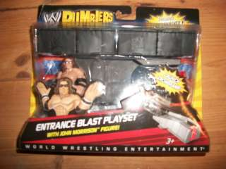 NEW WWE RUMBLERS ENTRANCE BLAST PLAYSET WITH JOHN MORRISON FIGURE