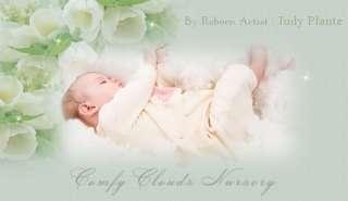 COMFY CLOUDS NURSERY REBORN BABY BOY ~ DEVINE YARIE