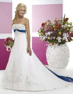 Stock New Wedding Dress/ Bridesmaid/ Gown Size*8 10 12 14 16