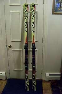 WOW Fischer RC4 183 CM GS Skis 2007/2008