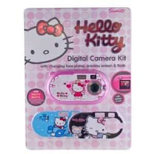 Sakar Hello Kitty Digital Camera Kit with Changing Face