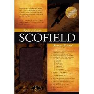 RVR 1960 Biblia de Estudio Scofield Tamano Personal, Simil