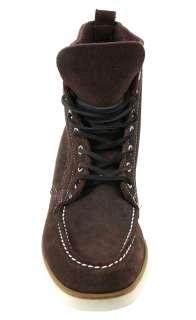 Sebago Mens Boots B20656 Fairhaven Boot Brown Rough Out Suede