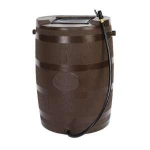 New Brown Ran Barrel 54 Gallon Polyethylene High Quality Modern Design