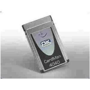 Omnikey Cardman 4040 Mobile Pcmcia Smart Card Reader, Taa Compliant