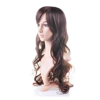 long hair wig human health beautiful Kanekalon Synthetic Wig