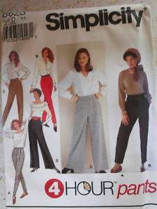 Simplicity 8623 Sz 4 8 Pants Sewing Pattern Uncut