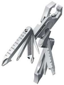 Swiss Tech Micro Max 19 IN 1 Multi Tool STAINLESS Plier