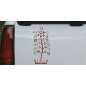 Flower Stalk Flowers And Vines Car Window Wall Laptop Decal Sticker