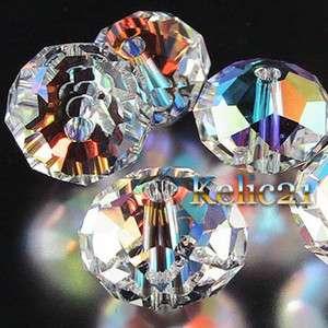 50 Color Optional Swarovski Crystal 5040 6mm Briolette Beads CR09