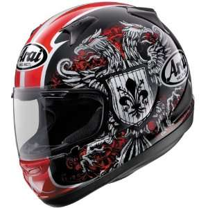 Arai RX Q Motorcycle Racing Helmet Duetet Black/Red Automotive