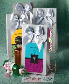 60 Personalized Silver Boxes Wedding / Bridal Shower Favors