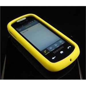 YELLOW FULL VIEW Soft Rubber Silicone Skin Cover Case for