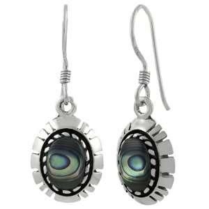 Sterling Silver Abalone Earrings Jewelry
