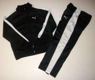 Boys Puma 2 pc track sport suit, Jacket, pants, size 5. NWT