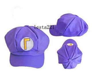 Super Mario Bros Cap Anime Cosplay Super Mario M&Super Mario L Hat 4